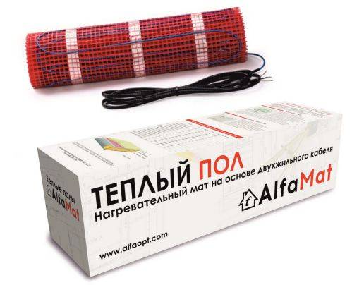 Теплый пол AlfaMat-150 (8 м²) в #REGION_NAME_DECLINE_PP#